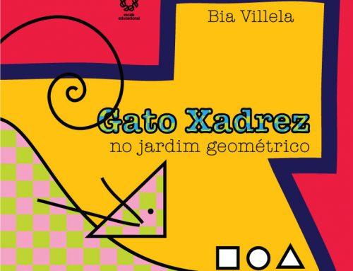 Gato Xadrez no jardim geométrico